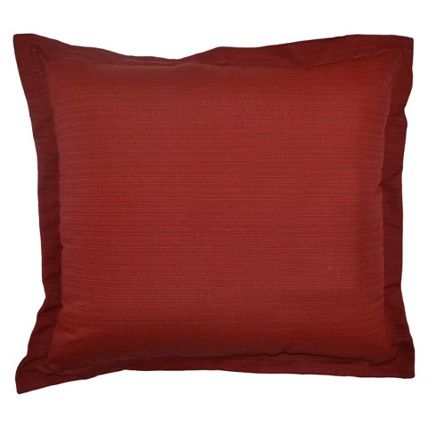 Threshold™ Outdoor Deep Seating Back Cushion - Red Textured