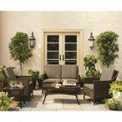 Casetta 5-Piece Wicker Patio Conversation Furniture Set - Threshold™