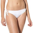 Mossimo® Women's Mix and Match Side Tie Swim Bottom -White