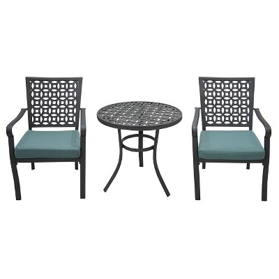 Threshold HAWTHORNE 3PC BISTRO- blue