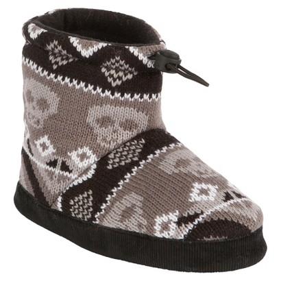 Boy's MUK LUKS® Nicolas Boot - Black/Grey