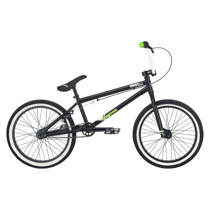 "Mongoose Boys Index 5.0 20"" Bike - Black/White/Green"