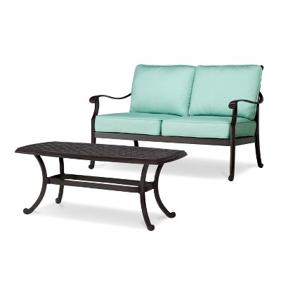 Smith & Hawken® Edinborough Loveseat & Coffee Table Set