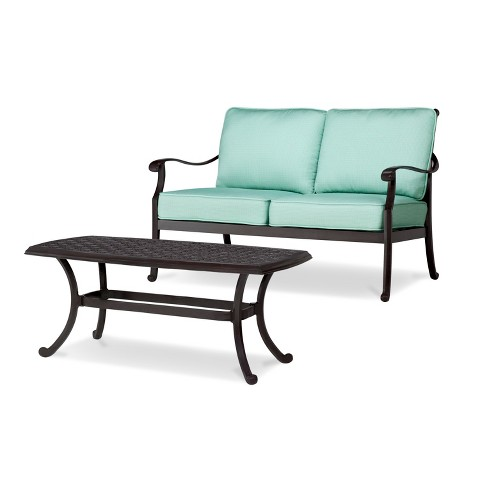Smith & Hawken™ Edinborough Loveseat & Coffee Table Set