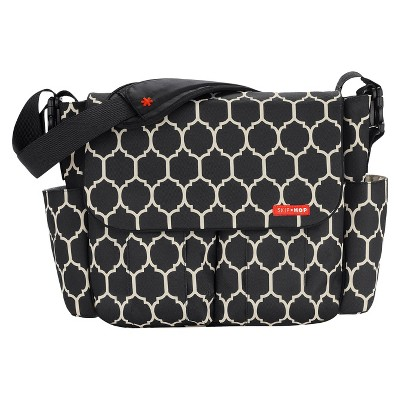 Skip Hop Dash Messenger Diaper Bag, Onyx