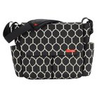 Skip Hop Dash Messenger Diaper Bag, Onyx