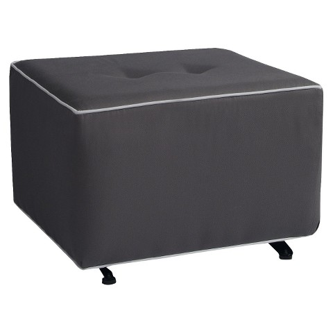 Little Castle Gliding Ottoman with Buttons