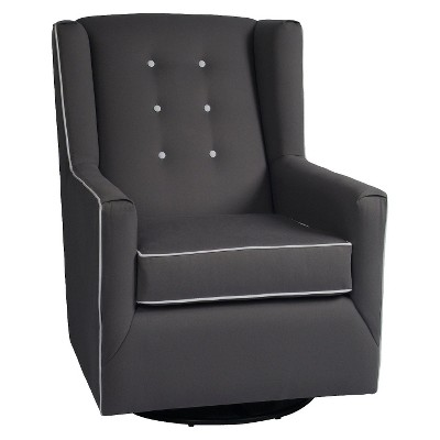 Little Castle Custom Upholstered Charleston Swivel Glider Charleston - Assorted