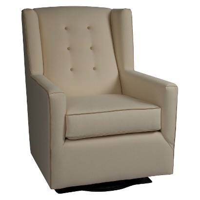 Little Castle Custom Upholstered Crown Charleston Swivel Glider Charleston - Assorted