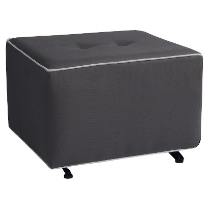 Little Castle Charleston Gliding Ottoman - Solid