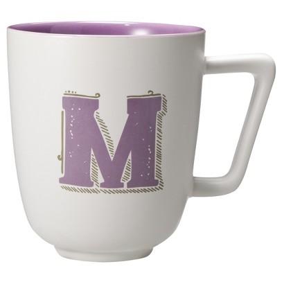 Threshold™ All Is Bright Monogram Mugs Set of 2
