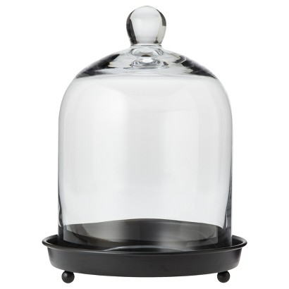 Smith & Hawken® Glass Dome Cloche - 8.8x11.5""