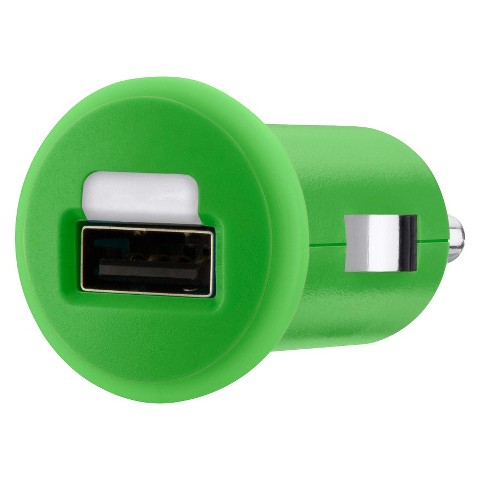 Belkin Micro Car Charger - Green (F8J018ttGRN)