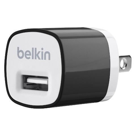 Belkin Micro Wall Charger - Black (F8J017ttBLK)