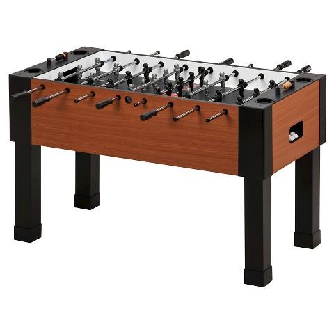 GLD Maverick Fooseball Table - Brown/Black