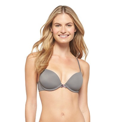 Junior's Perfect T-Shirt Lightly Lined Plunge Bra
