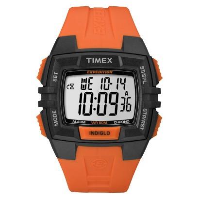 Timex® Square Case Watch - Hyper Orange