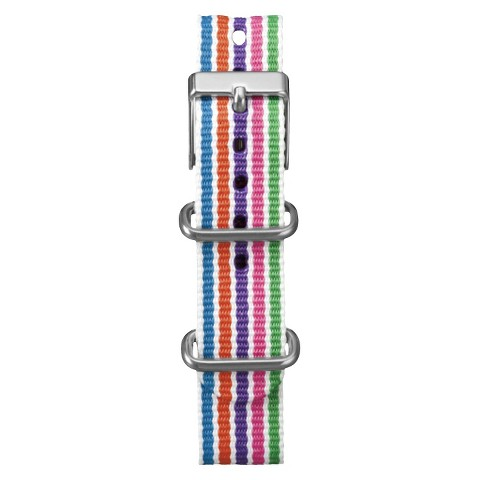 Women's Timex Weekender™ Mid-Size Slip Thru Replacement 18mm Strap - Multicolor - T7B927TV