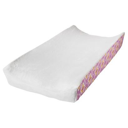 Mudhut pink Dawn Changing Pad Cover