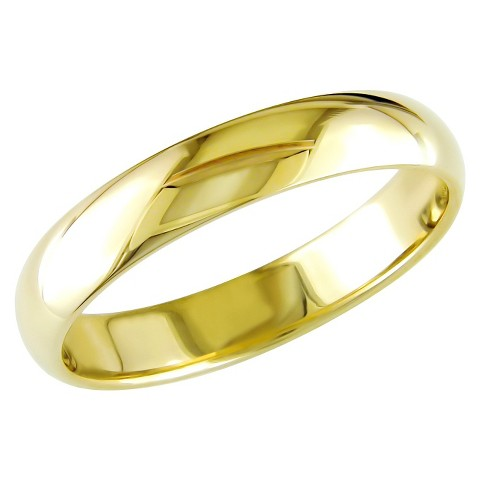 Men's 10K Yellow Gold Wedding Band