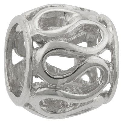 Charm Bead - Silver