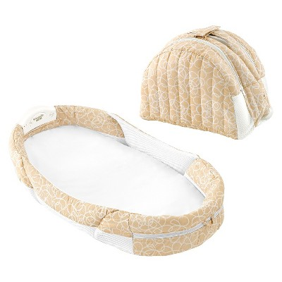 Baby Delight Snuggle Nest Napper with Surround Sound - Beige