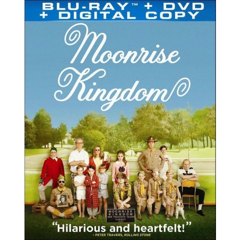 Moonrise Kingdom (2 Discs) (Includes Digital Copy) (UltraViolet) (Blu-ray/DVD) (W) (Widescreen)