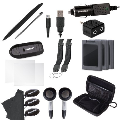 20 in 1 Essentials Kit - Black (Nintendo 3DS XL)