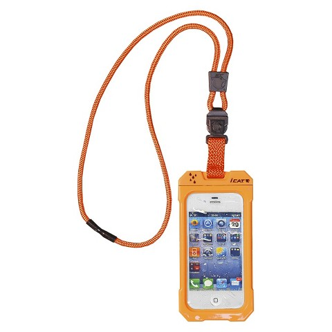 iCat Dri Cat Neck It Waterproof Case and Lanyard for iPhone®4/4S - Orange (11043CP-C98)