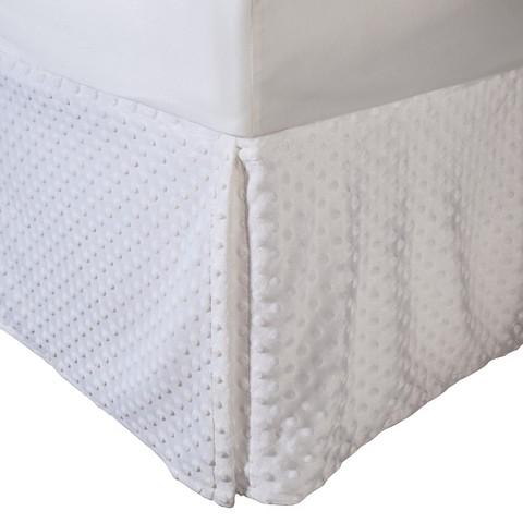 TL Care Heavenly Soft Chenille Crib Skirt