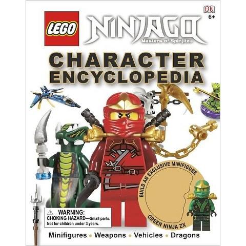 LEGO Ninjago: Character Encyclopedia by DK Publishing (Hardcover)