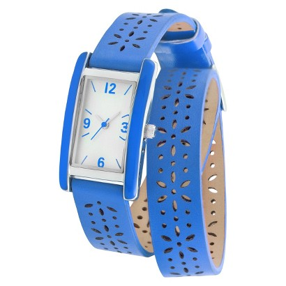 Merona® Double Wrap Watch - Blue