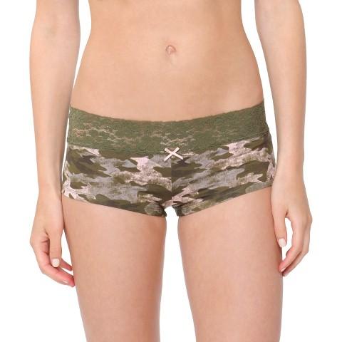 Women's Micro with Lace Boyshorts - Xhilaration®