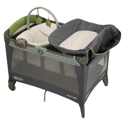 Graco Pack 'n Play Playard with Newborn Napper Station LX - Monroe