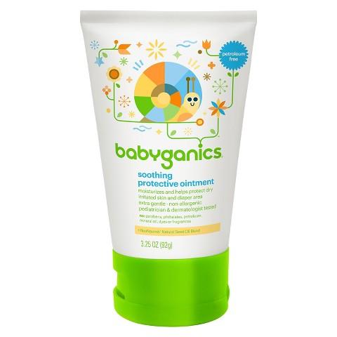 Babyganics Non-Petroleum Soothing Protective Ointment - 3.25oz Tube