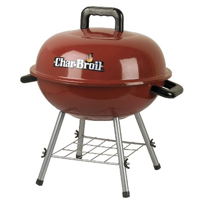 "Char-Broil® 14"" Charcoal Grill- Red"