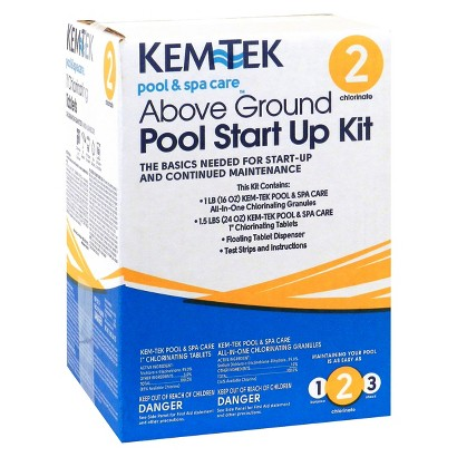 KEM-TEK ABOVE GROUND POOL START UP KIT