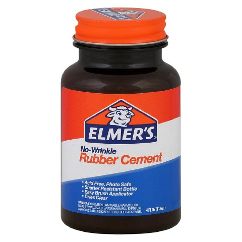 Elmers 4oz Rubber Cement