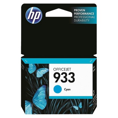 HP 933 Officejet Printer Ink Cartridge - Cyan