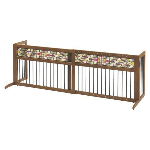 Mission Aztec™ Freestanding Pet Gate