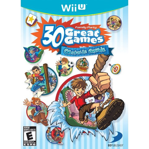 Family Party 30 Great Games: Obstacle Arcade (Nintendo Wii U)