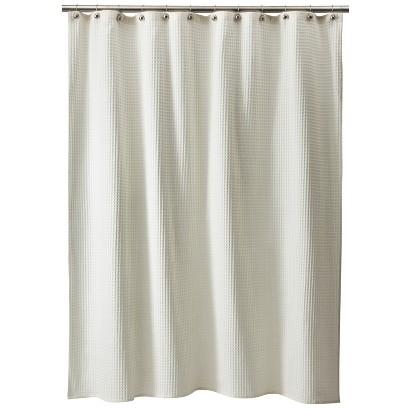 Threshold™ Waffle Weave Shower Curtain Tar