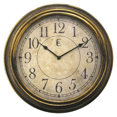 Antique Wall Clock - Bronze