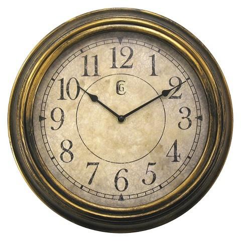 Antique Wall Clock - Bronze