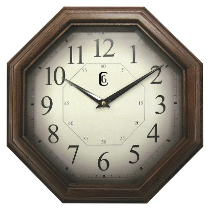 Wood Wall Clock - Brown