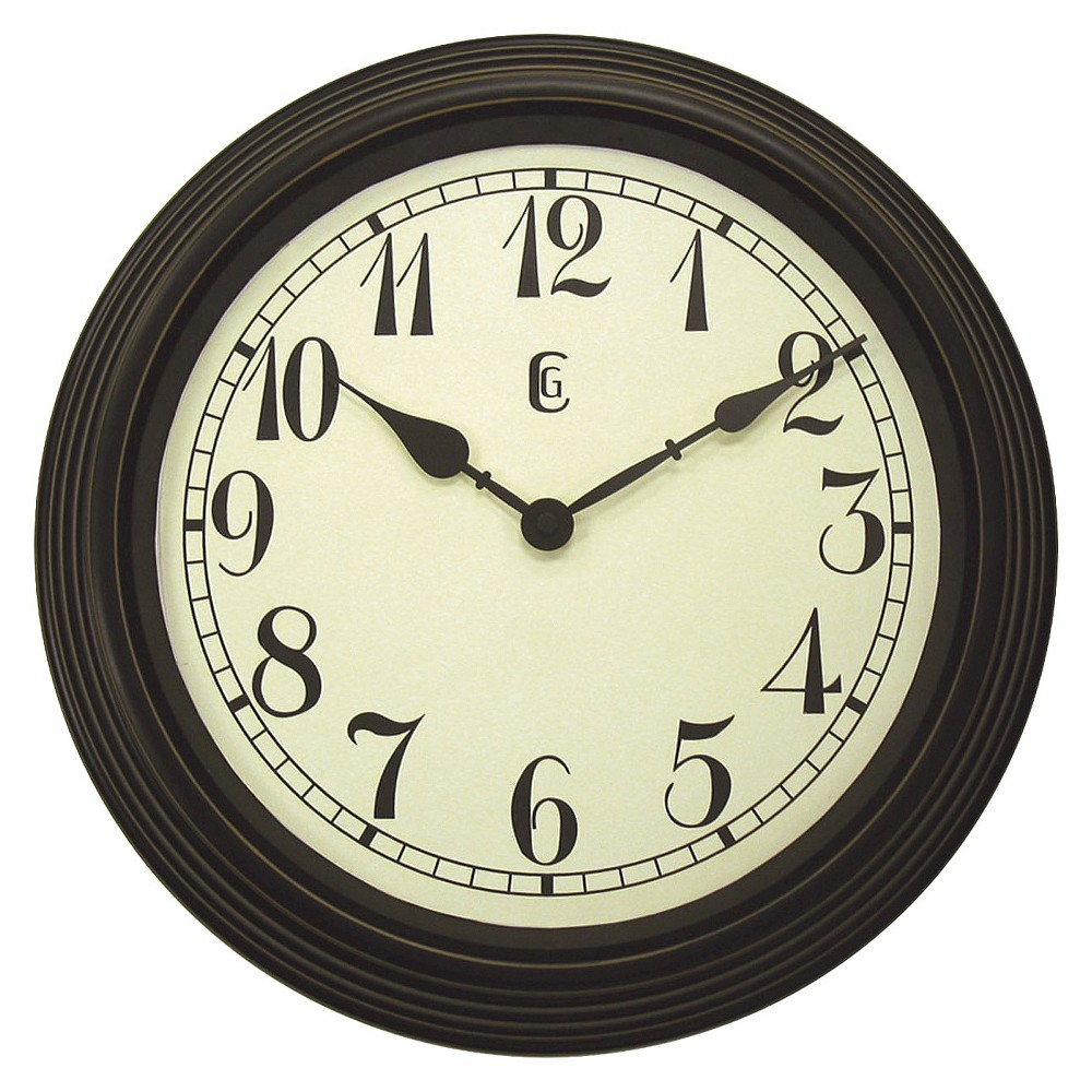 Target Wall Decor Clock : Decorative wall clock black