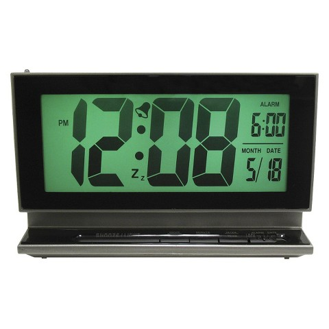 Multifunction Alarm Clock - Gray
