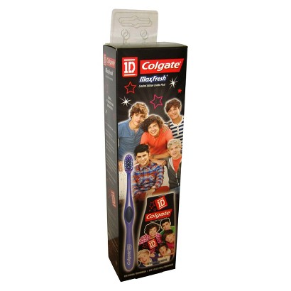 Colgate One Direction Toothbrush & Toothpaste