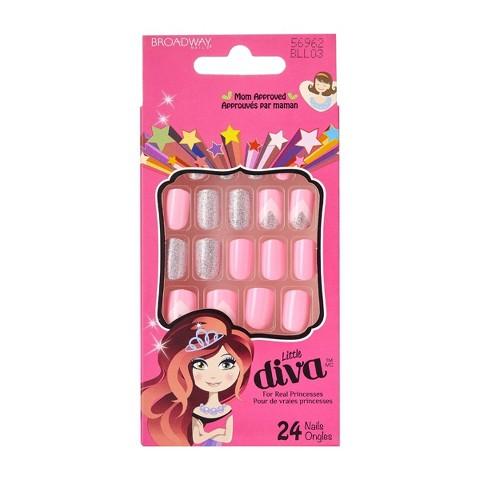 broadway nails174 little diva sticker nails target