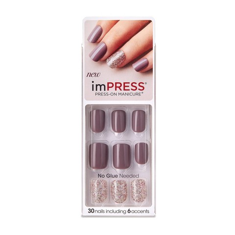 Broadway Nails imPRESS® Press-On Manicure® - Night Fever